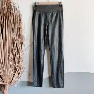 Paige Genuine Leather Paloma Skinny Fit Leggings